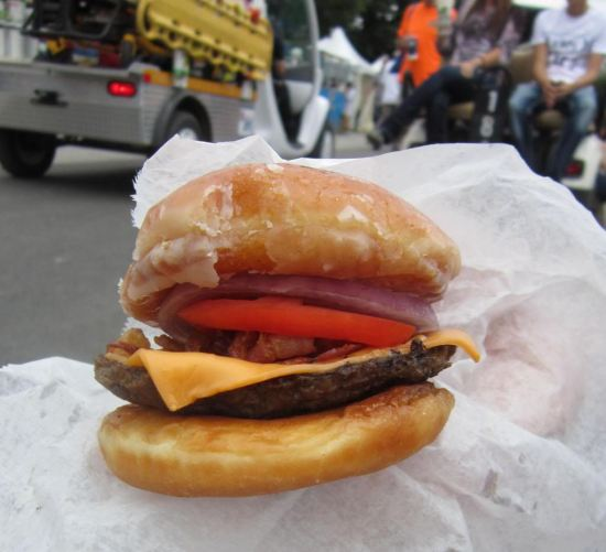 Donut Burger!
