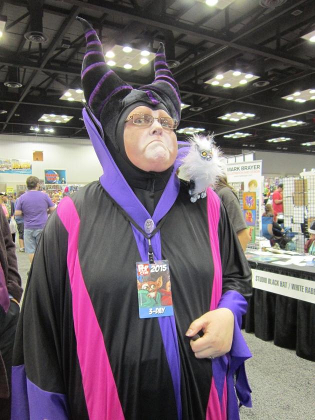 Grumpy Maleficent!
