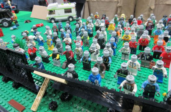 Lego Walking Dead!