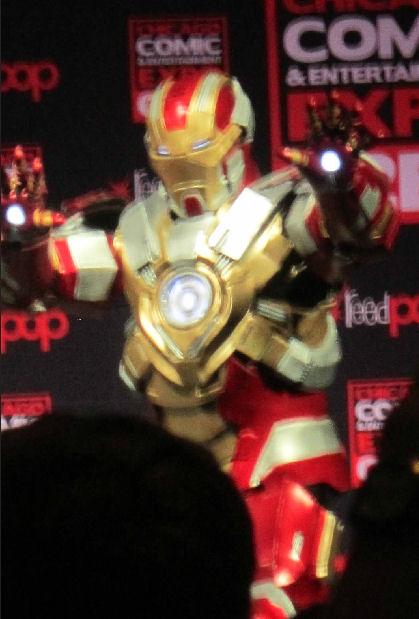 C2E2 2015 Iron Man barely!