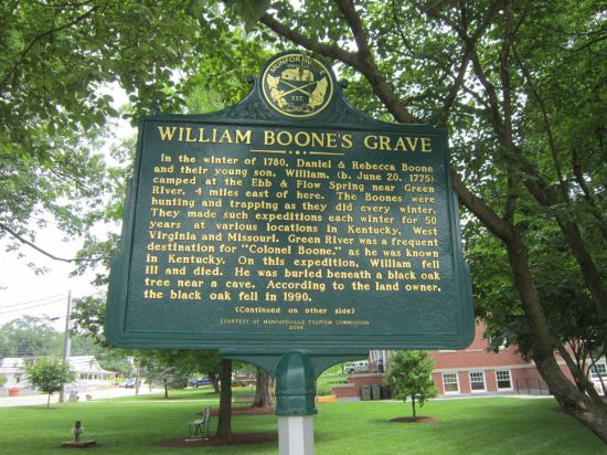 William Boone marker!
