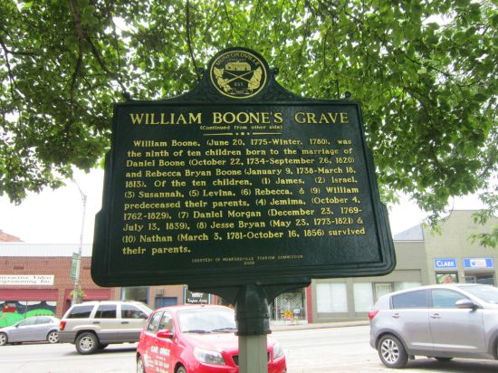 William Boone Marker