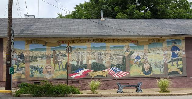 Civil War Mural!