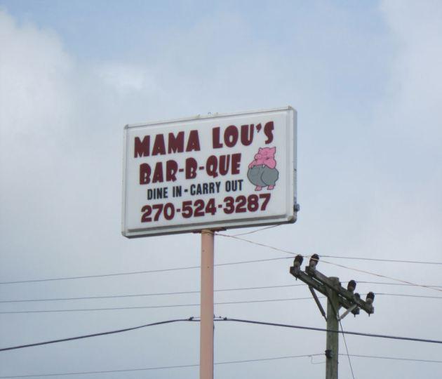 Mama Lou Sign!