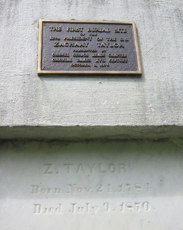 Taylor Tomb Plaque!