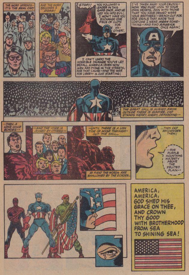 Captain America!