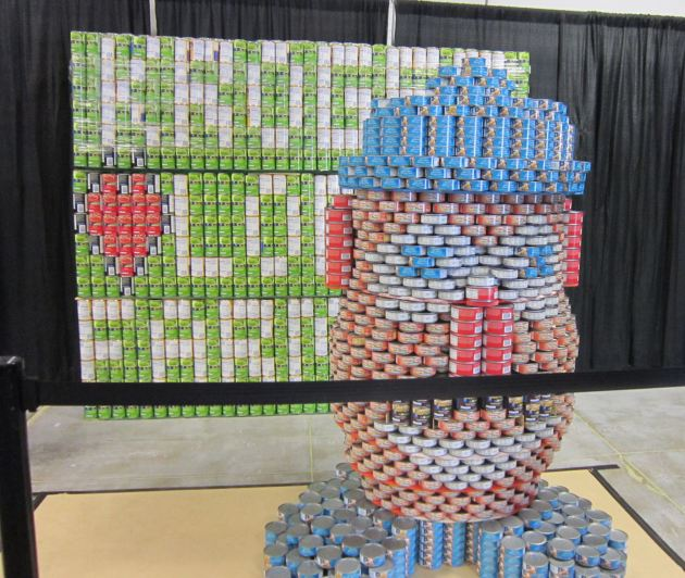Canned Mr. Potato Head!