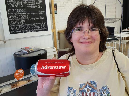 Adventurer Coke!