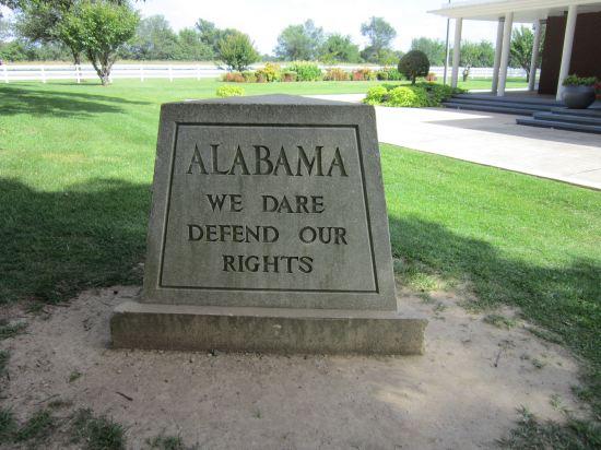 Alabama Rights Marker!