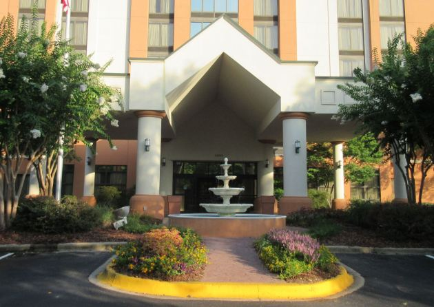 Hotel Fountain!