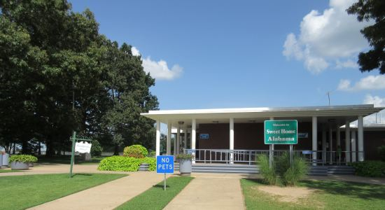 Alabame Welcome Center!