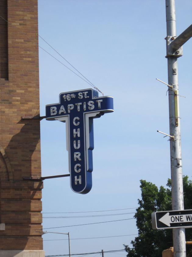Sixteenth Street Baptist Church.