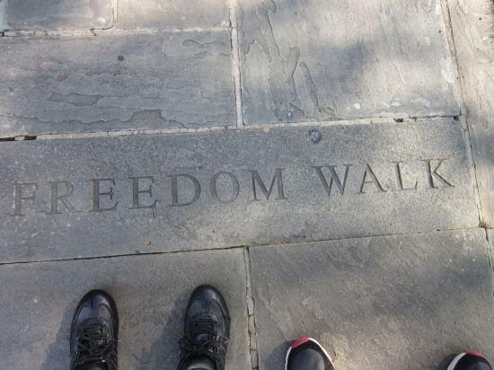 Freedom Walk!