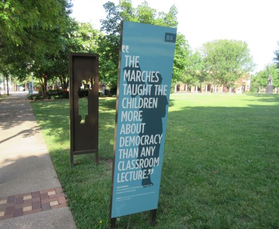 Civil Rights Quote Sign.
