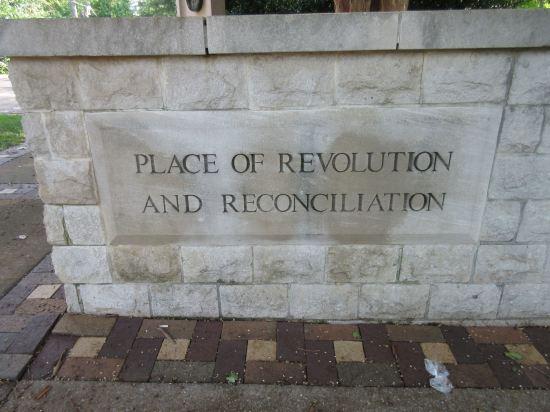 Revolution and Reconciliation.