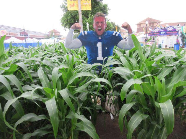 Football Corn!