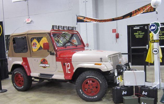 Jurassic Park Jeep!