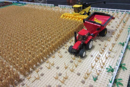 Lego Plowing!