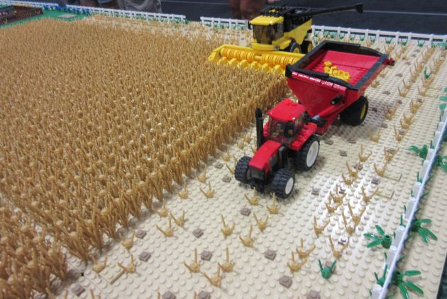 Lego Plowing!