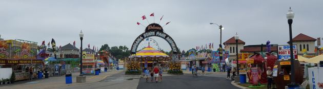 Indiana State Fair Midway!