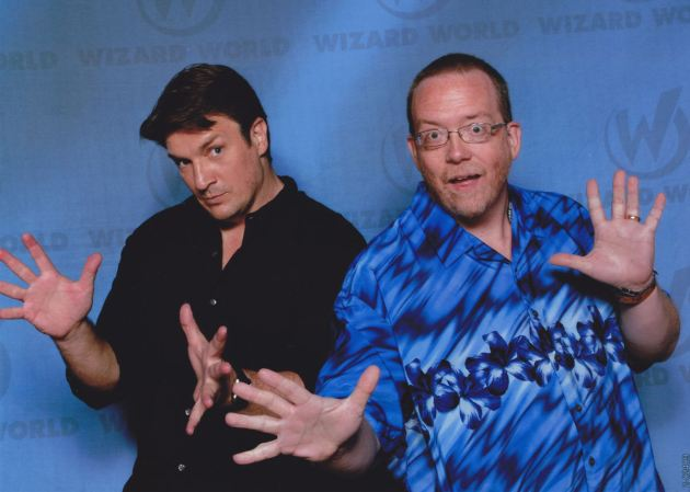Nathan Fillion!