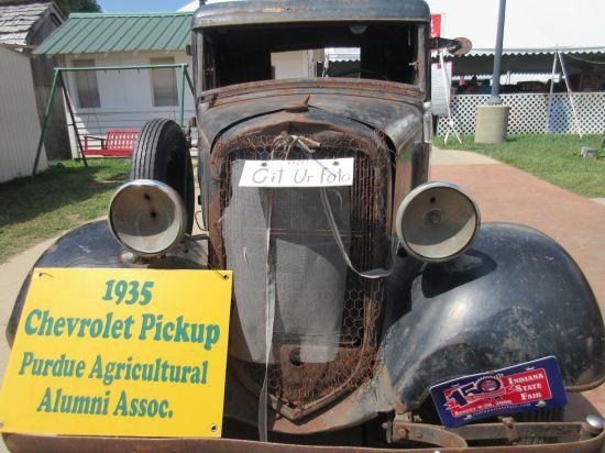 Antique auto!
