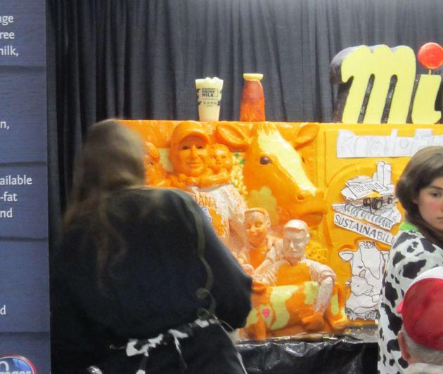 State Fair Cheese Sculpture 2015!