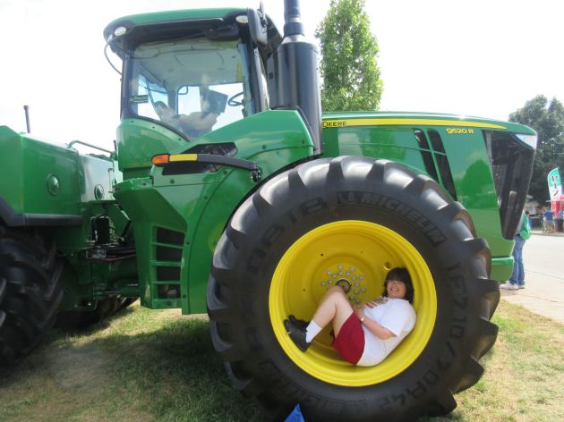 Tractor Wife!