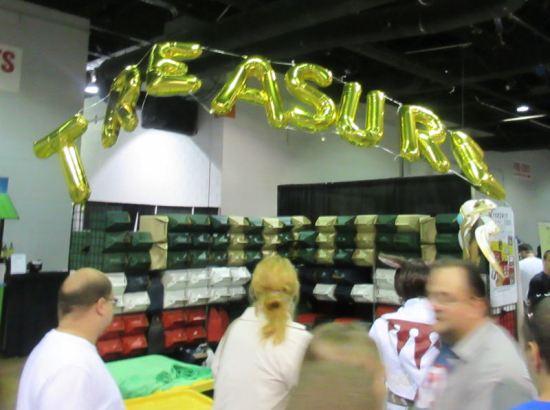 Treasure Balloons!