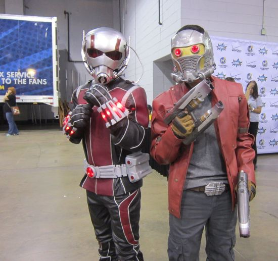 Ant-Man + Star-Lord!