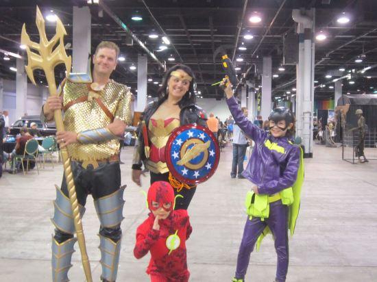 DC Comics Heroes Family!