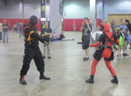 Deadpool vs. Slade!