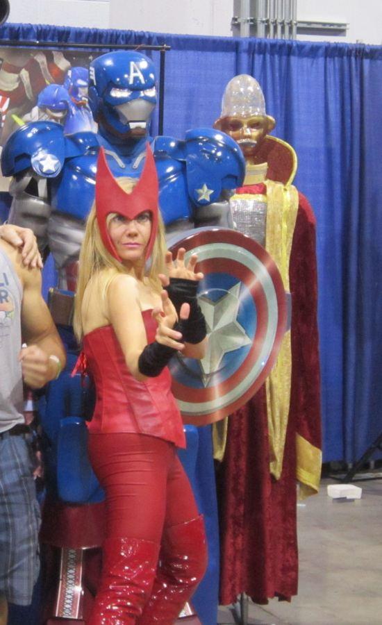 Iron Cap + Scarlet Witch!