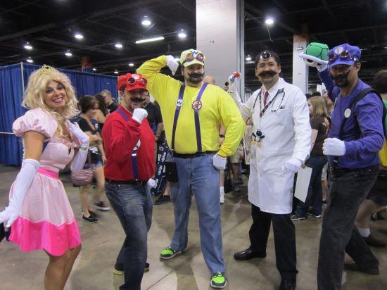 Super Mario Squad!