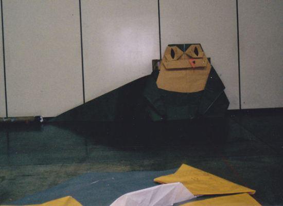 Origami Jabba!