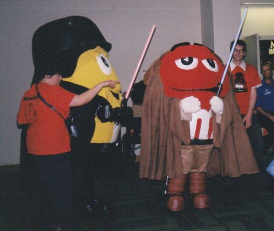Jedi M&Ms!