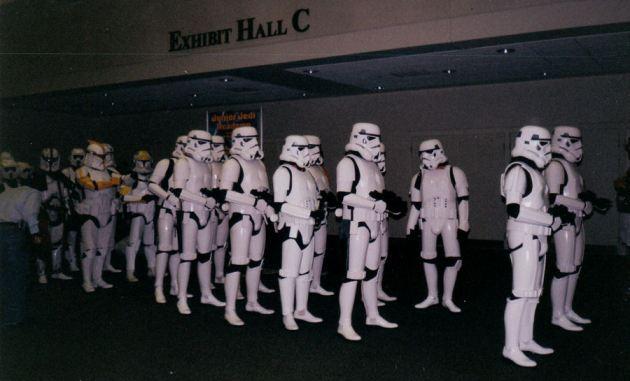 Stormtrooper Parade!