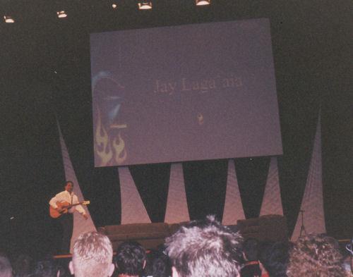 Jay Laga'aia!
