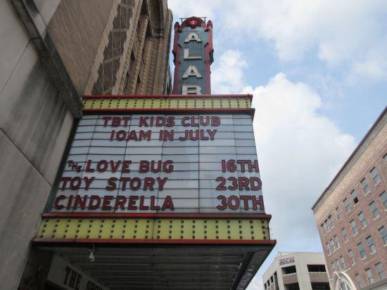 Alabama Summer Kids Movies!