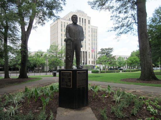 Charles Linn statue!