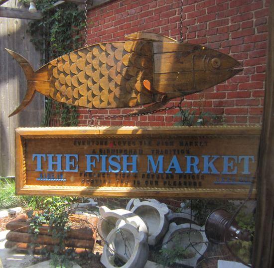 Fish Market Sign!
