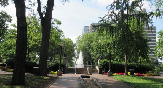 Linn Park Fountain!