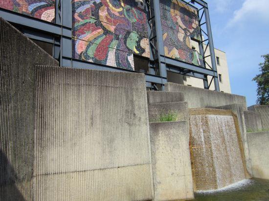 Mural and Falls!