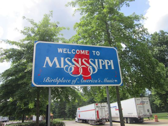 Welcome to Mississippi!