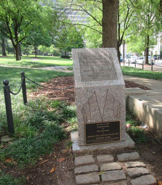 Raymond Weeks Memorial!