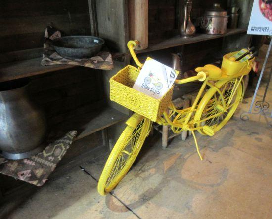 Yellow Bicycle!