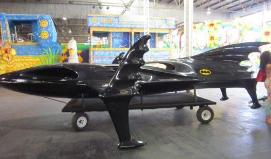 Bat-Skiboat!