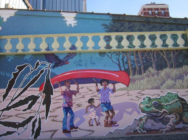 Canoe Mural!
