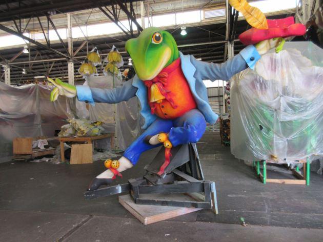 Dancing Frog!