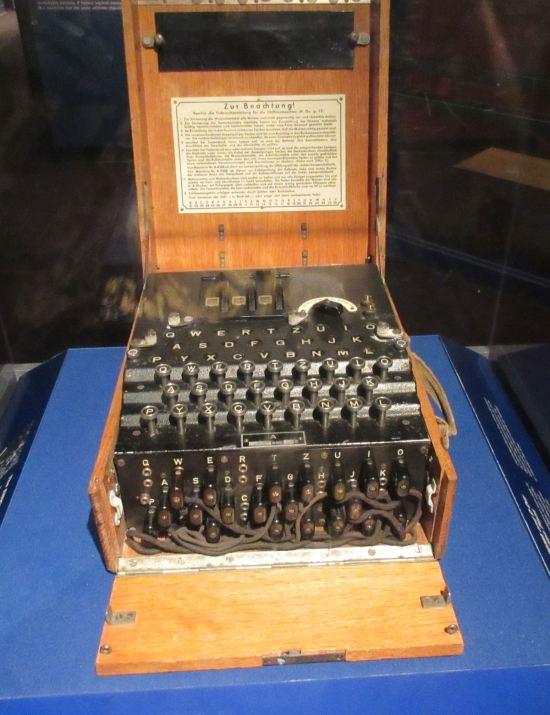 Enigma Machine.